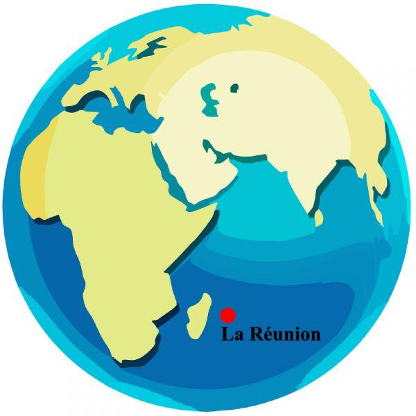 Reunion Carte Du Monde.Plan Et Carte Gratuite Ile De La Reunion
